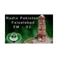 listen Radio Pakistan FM93 (Faisalabad) online